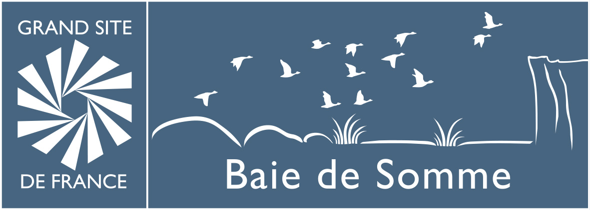 logo grand site de france - baie de somme